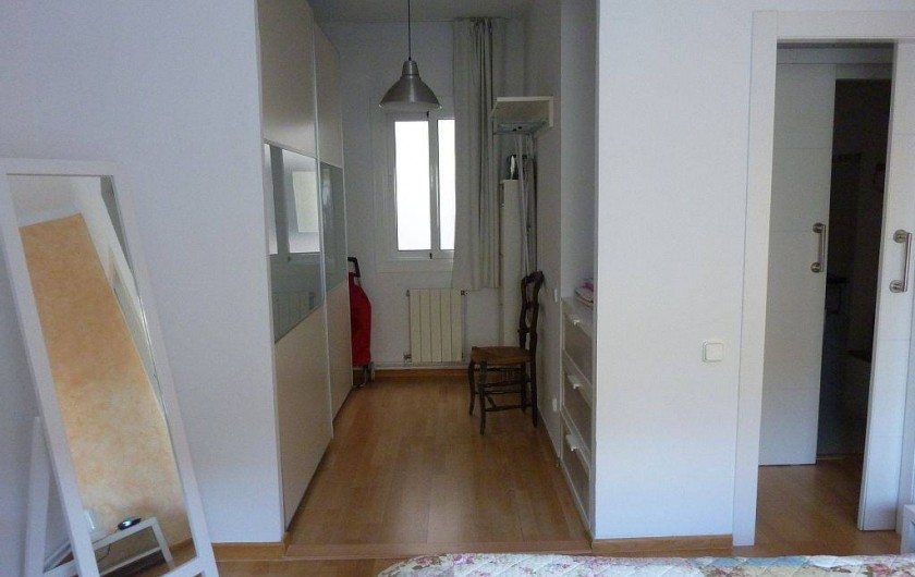 Location de vacances - Appartement à Barcelone - Dressing