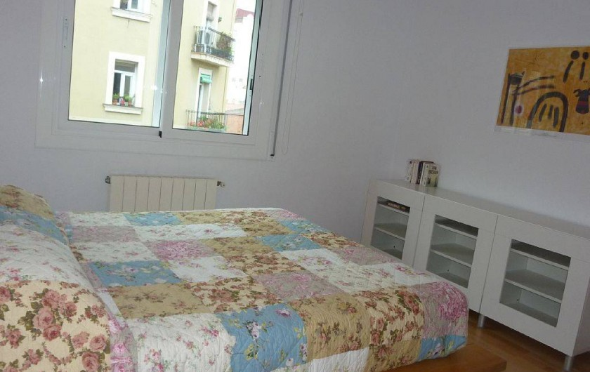 Location de vacances - Appartement à Barcelone - Chambre principale