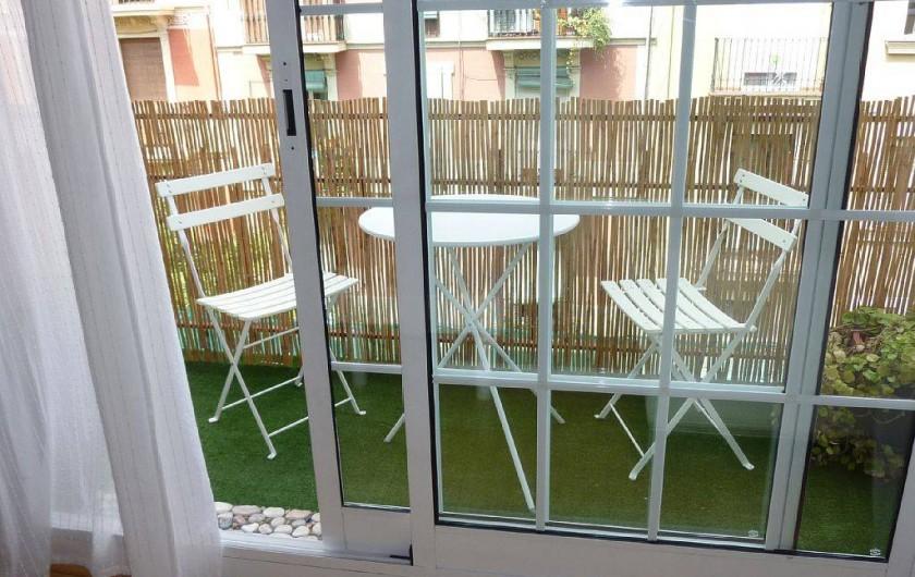 Location de vacances - Appartement à Barcelone - Balcon