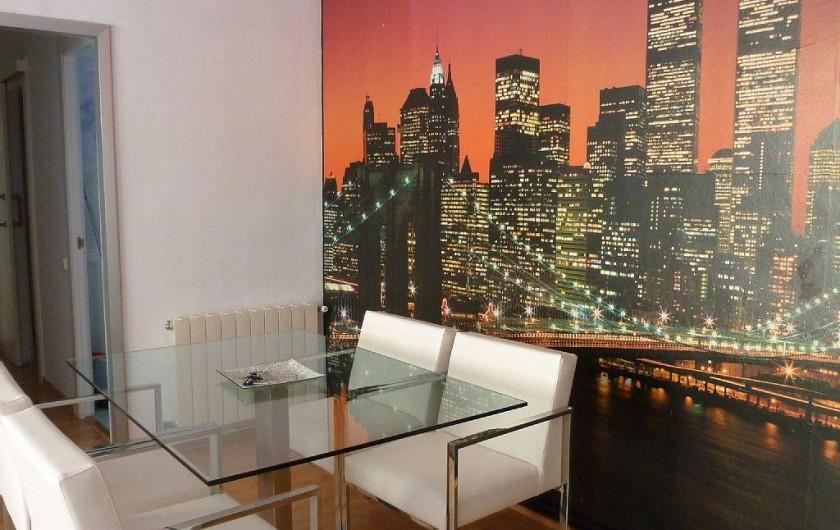 Location de vacances - Appartement à Barcelone - Coin salle à manger