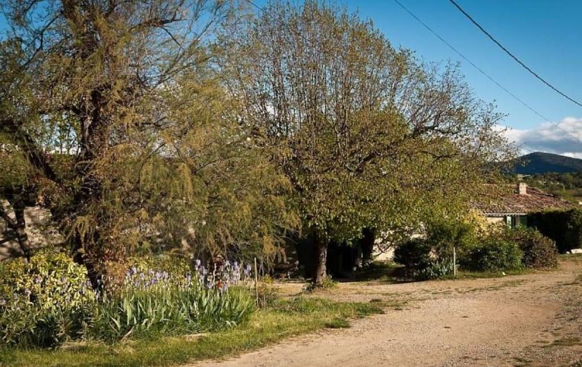 Location de vacances - Gîte à Mollans-sur-Ouvèze - L'arrivée chez nous