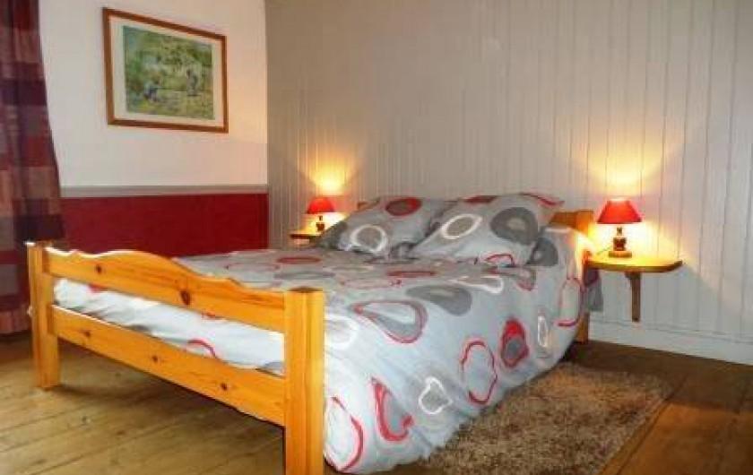 Location de vacances - Gîte à Prénovel - lit 2 places à l'étage