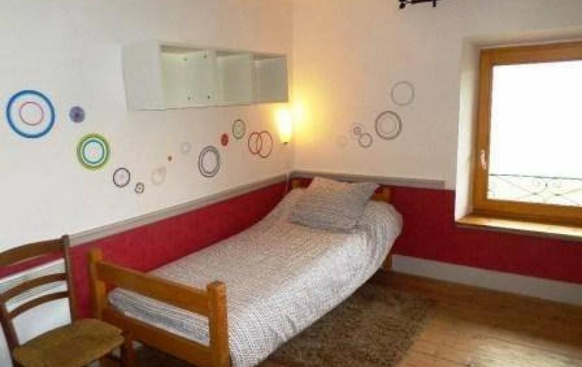 Location de vacances - Gîte à Prénovel - lit une place à l'étage