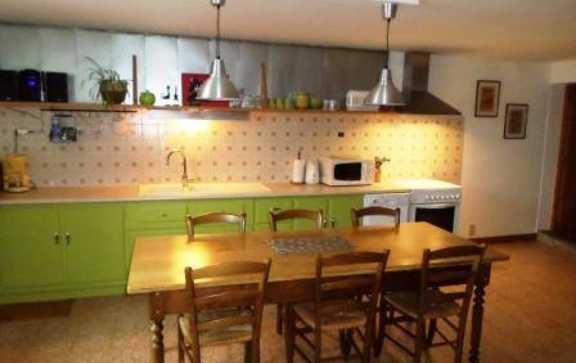 Location de vacances - Gîte à Prénovel - cuisine toute équipée