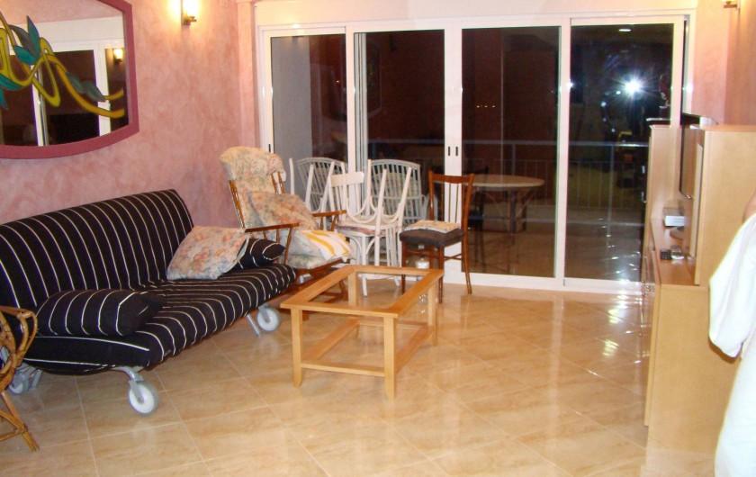 Location de vacances - Appartement à Cullera - salon avec clic-clac 2 personnes 13 eme