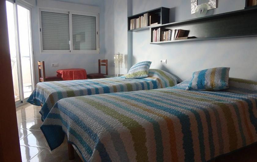 Location de vacances - Appartement à Cullera - chambres 2 lits individuels  13 eme
