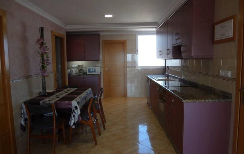 Location de vacances - Appartement à Cullera - cuisine americaine 13 eme
