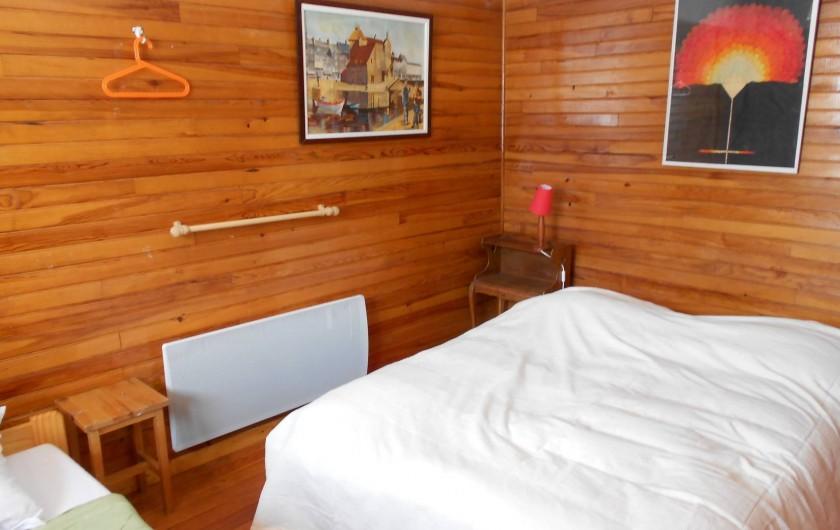 Location de vacances - Chalet à Vars - chambre 1  lit une place  lit deux places