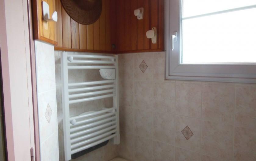 Location de vacances - Villa à Mimizan Plage - salle d'eau