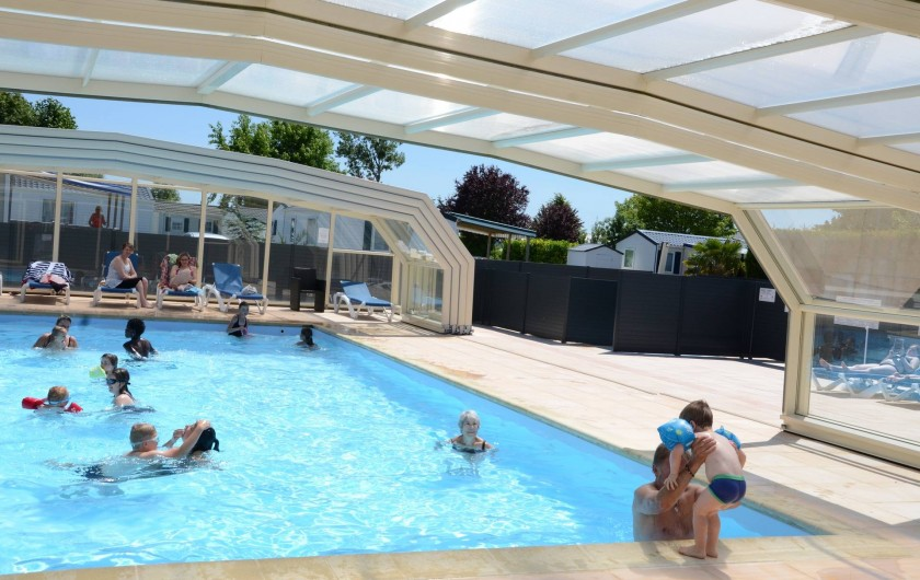 Mobil home en baie du mont saint michel cherrueix for Tarif piscine couverte