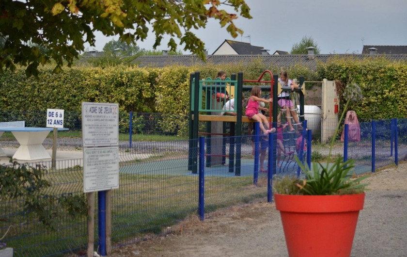 Location de vacances - Bungalow - Mobilhome à Cherrueix - structure multi-sport-St Malo