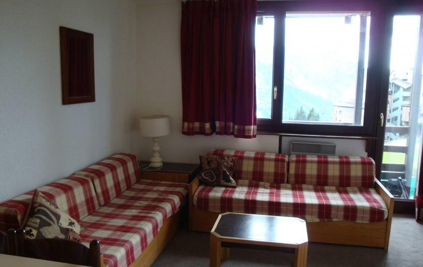 Location de vacances - Appartement à Avoriaz - Banquettes-lits