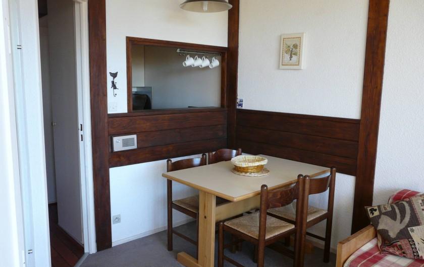 Location de vacances - Appartement à Avoriaz - Coin repas