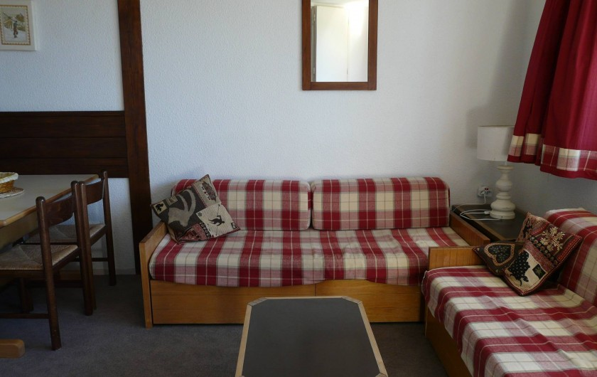 Location de vacances - Appartement à Avoriaz - Coin salon