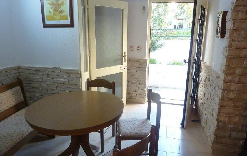 Location de vacances - Appartement à Vodice - Salle à manger du rez de chaussée