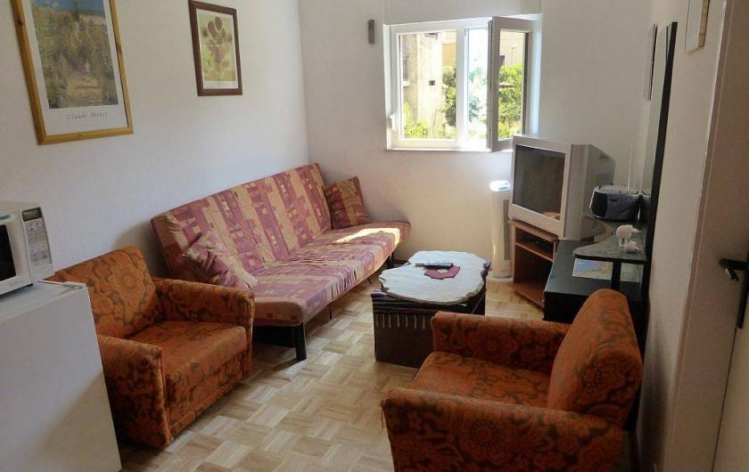 Location de vacances - Appartement à Vodice - Salon du 1er étage