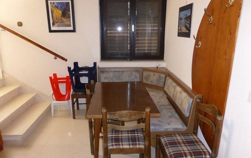 Location de vacances - Appartement à Vodice - Salle à manger du 1er étage