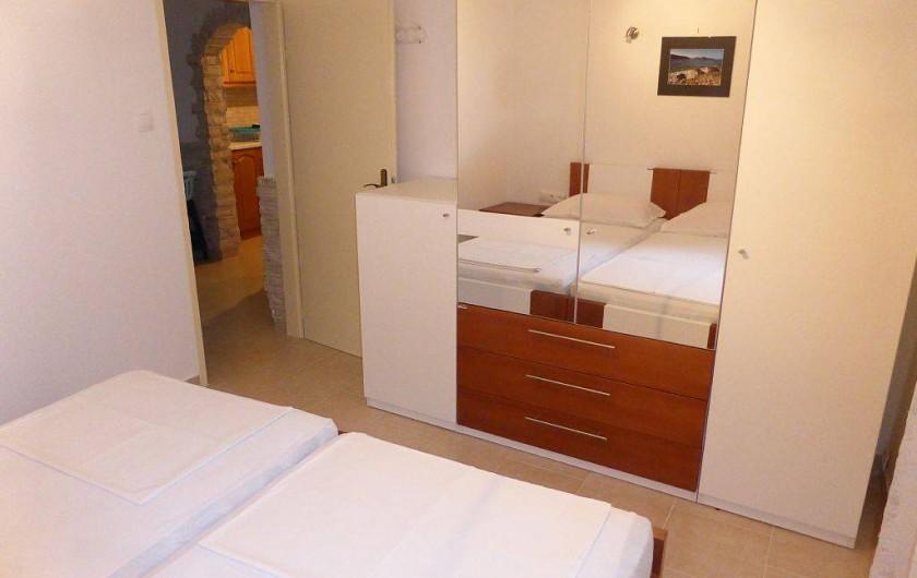 Location de vacances - Appartement à Vodice - Chambre 0 B du rez de chaussée