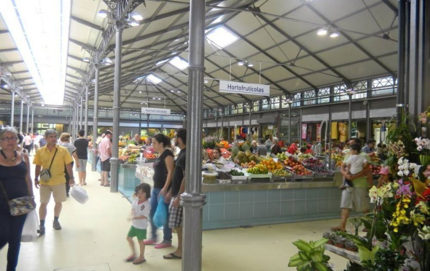 Location de vacances - Appartement à Tavarede - marché couvert de figueira