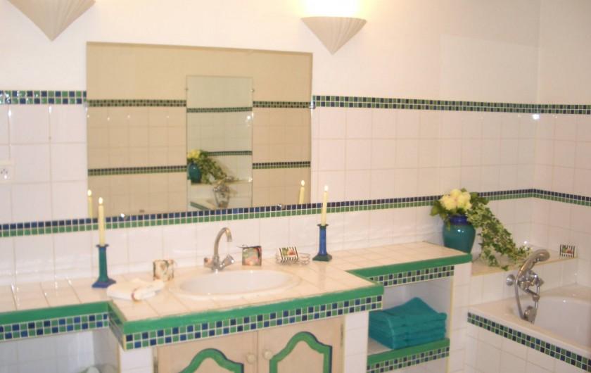 Location de vacances - Villa à Saint-Tropez - Salle de bain Vip
