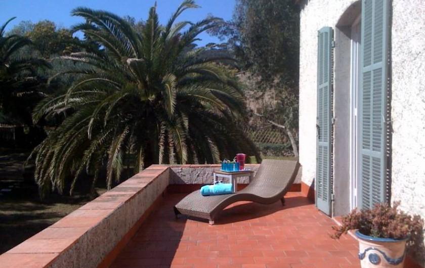 Location de vacances - Villa à Saint-Tropez - La terrasse Master