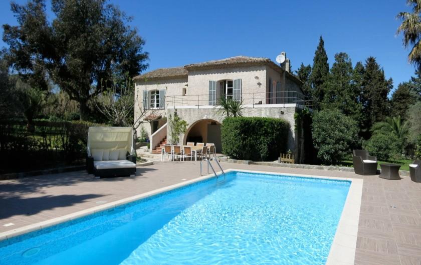 Location de vacances - Villa à Saint-Tropez - La Villa