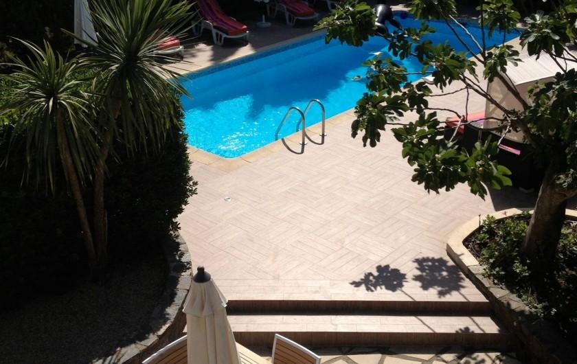 Location de vacances - Villa à Saint-Tropez - La Piscine
