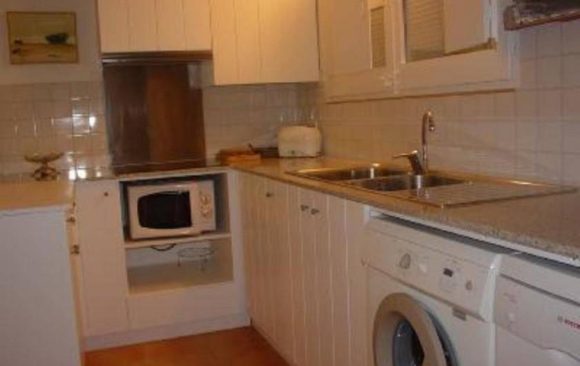 Location de vacances - Appartement à Cadaqués - cusinne ouberte