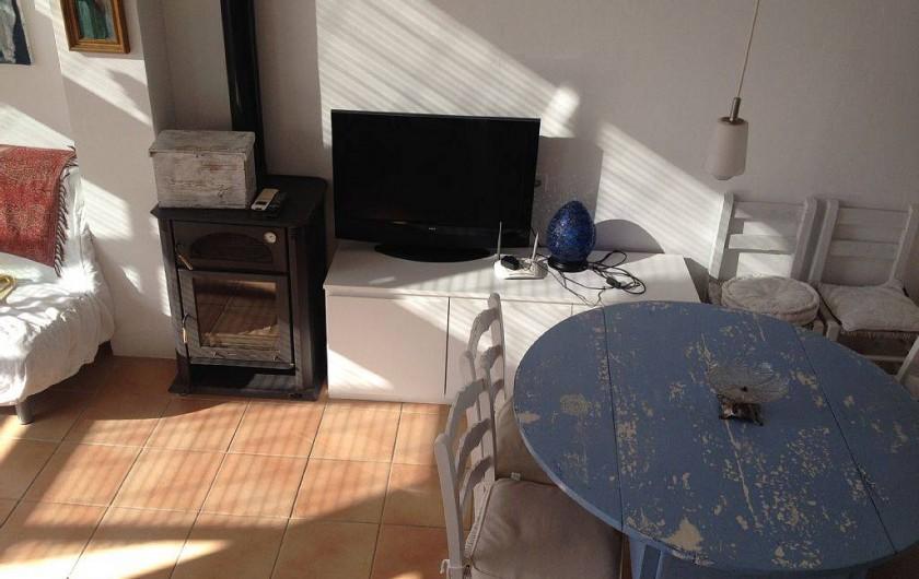 Location de vacances - Appartement à Cadaqués - sejour