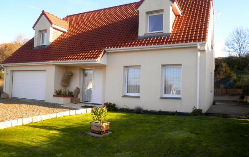 Location de vacances - Chambre d'hôtes à Saint-Josse - maison individuelle