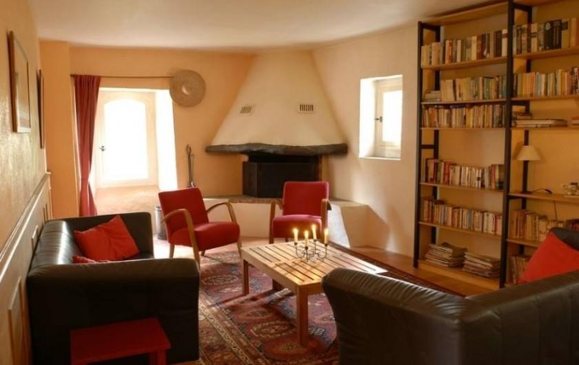 Location de vacances - Gîte à Saint-Félix-de-Pallières - salon