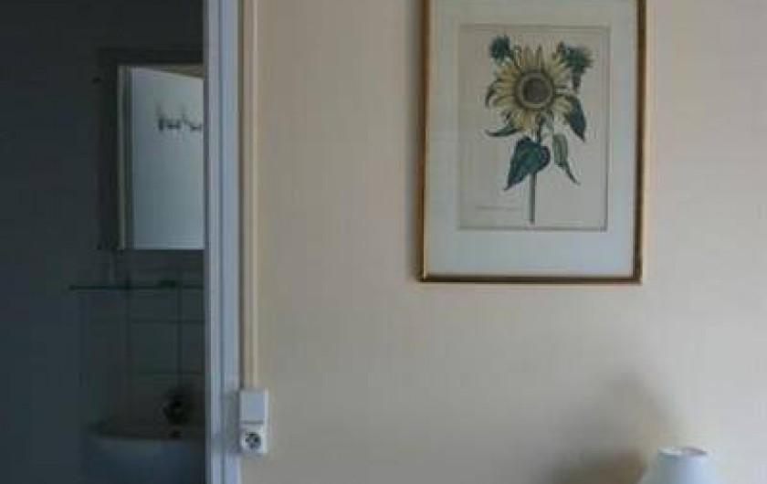 Location de vacances - Chambre d'hôtes à Villers-en-Ouche - Chambre SOLEIL