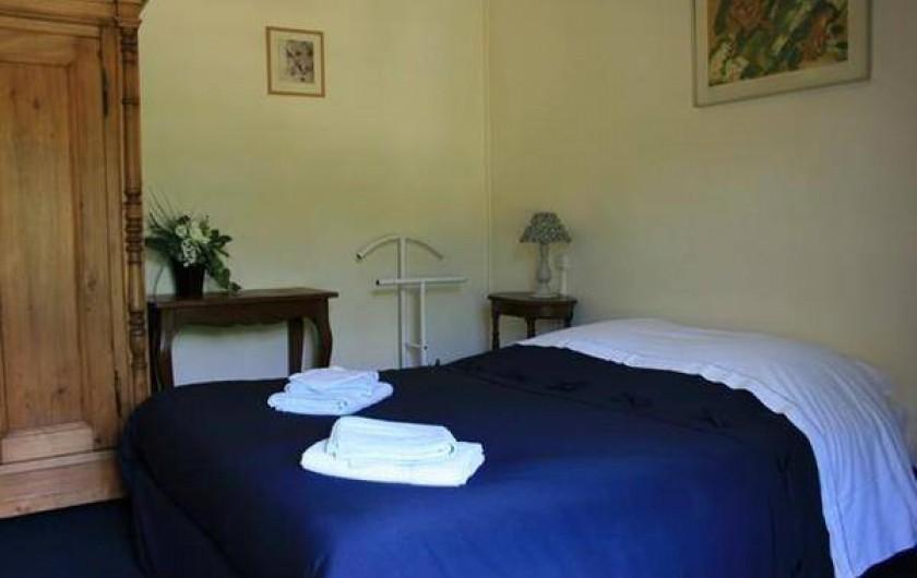 Location de vacances - Chambre d'hôtes à Villers-en-Ouche - Chambre MUGUET