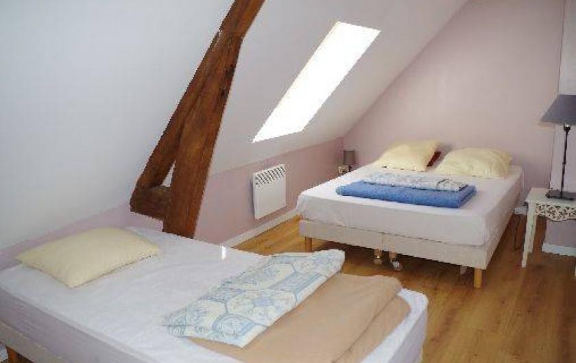 Location de vacances - Gîte à Maintenay - les chambres