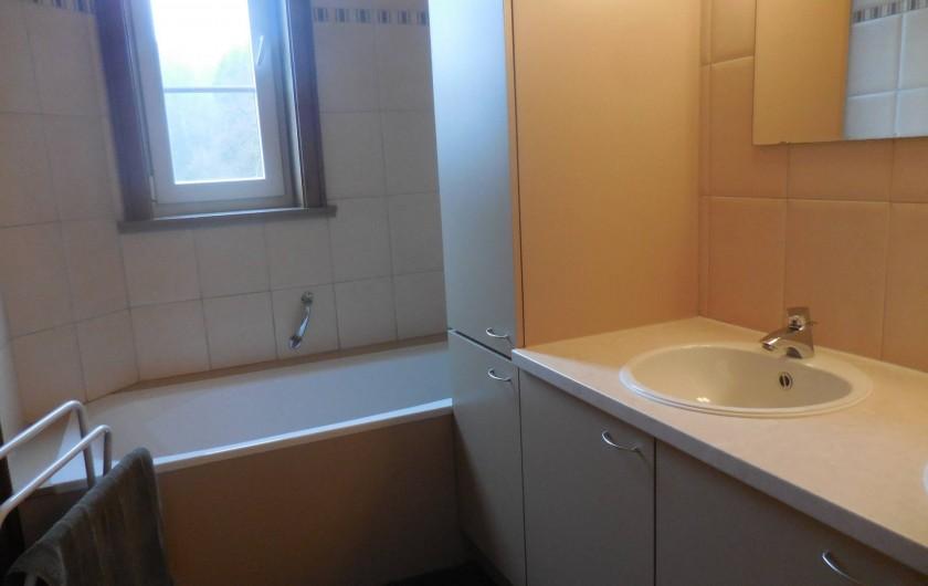 Location de vacances - Gîte à Mettet - Salle de bain
