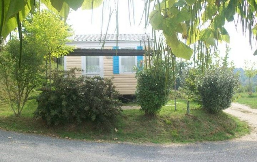 Location de vacances - Bungalow - Mobilhome à Villefranche-du-Périgord - Mobile Home ASTRIA : 2 p à partir de 50,00 EUR /nuit - 218,00 EUR /semaine