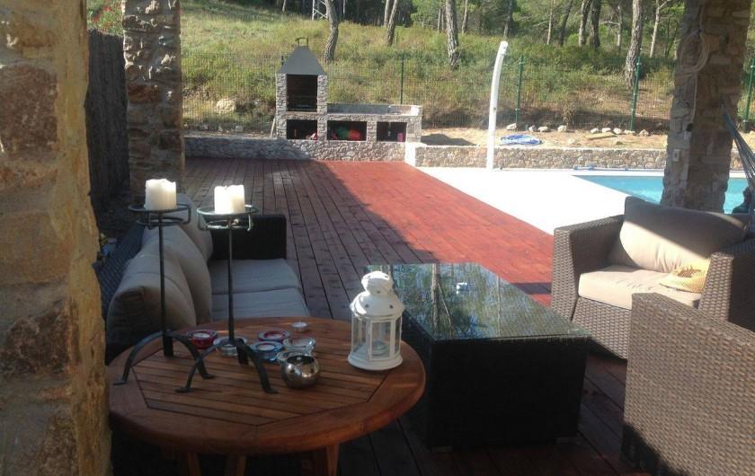Location de vacances - Villa à Pals - Terrasse 2