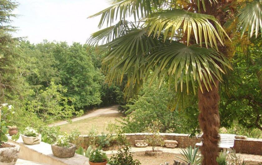 Location de vacances - Maison - Villa à Sarlat-la-Canéda - vue de la terrasse