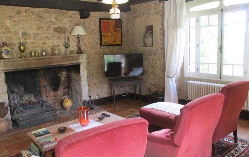 Location de vacances - Maison - Villa à Sarlat-la-Canéda - salon