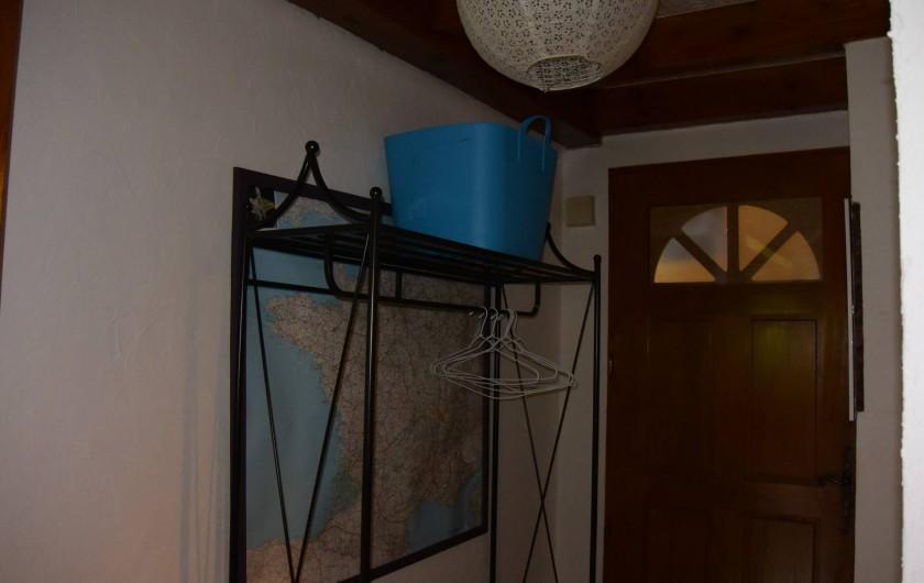 Location de vacances - Villa à Les Vabres - Le hall ...