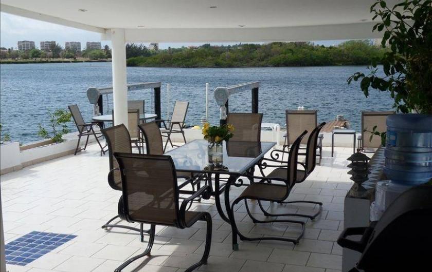 "Location de vacances - Villa à Maho - Diner sous ""gazebo"""