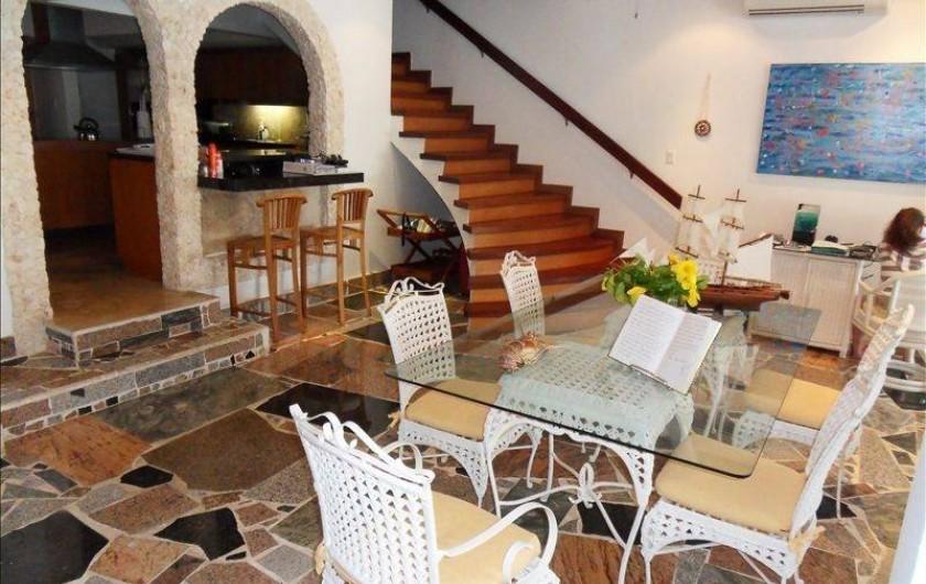 Location de vacances - Villa à Maho - salle à manger intérieure