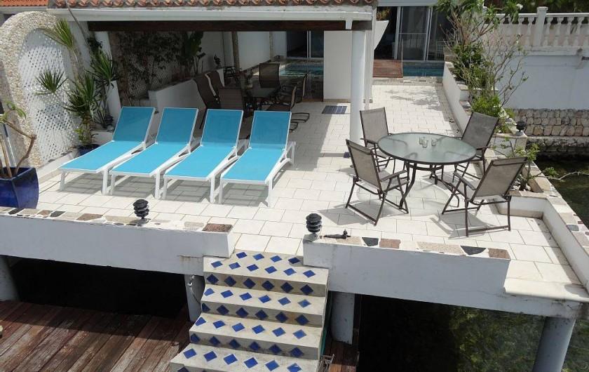 Location de vacances - Villa à Maho - Solarium