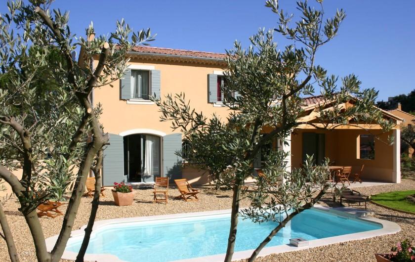 Location de vacances - Maison - Villa à Vaison-la-Romaine - Côté Sud