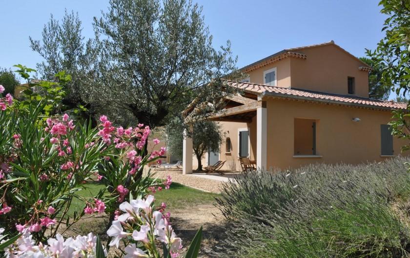 Location de vacances - Maison - Villa à Vaison-la-Romaine - Côté Est