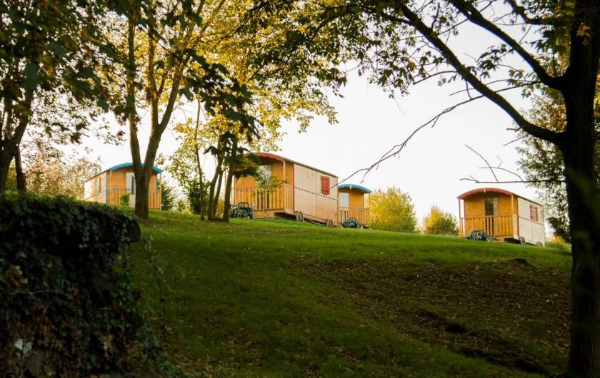 Location de vacances - Roulotte à Saint-Hilaire-sur-Helpe