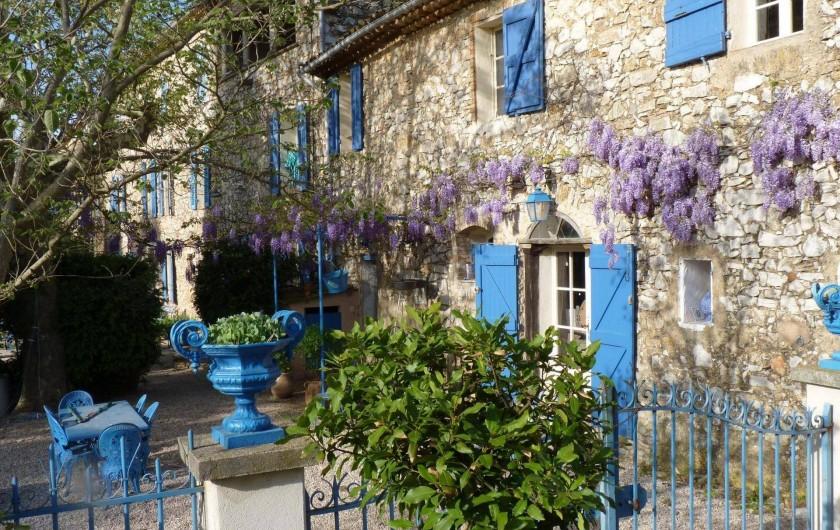 Location de vacances - Chambre d'hôtes à Brue-Auriac - LA Bastide Collombe