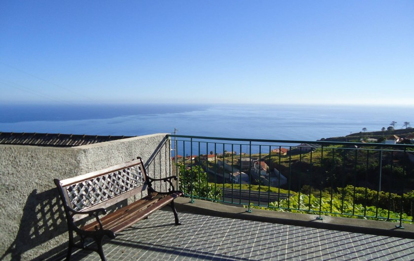 Location de vacances - Villa à Estreito da Calheta - Vue sur l'ócean