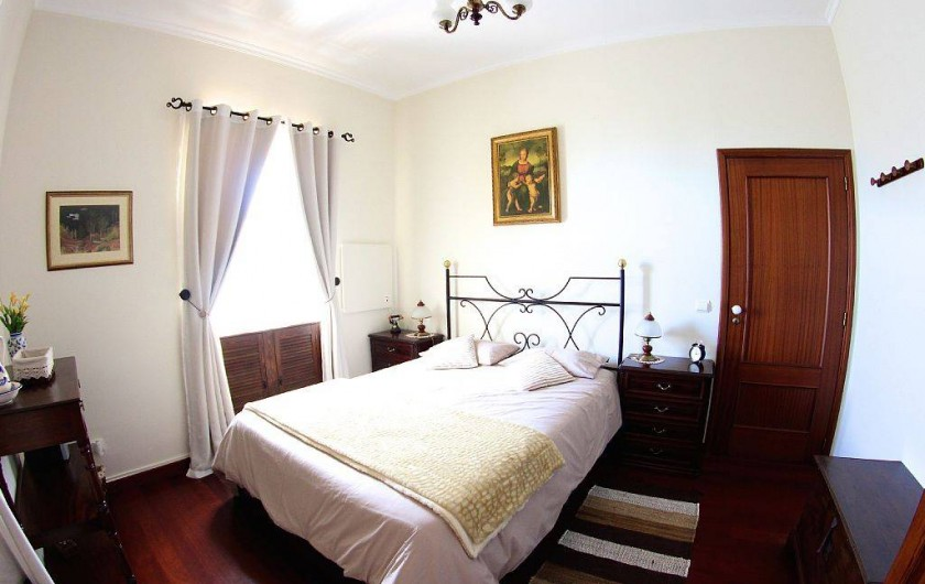 Location de vacances - Villa à Estreito da Calheta - Chambre double Ouest