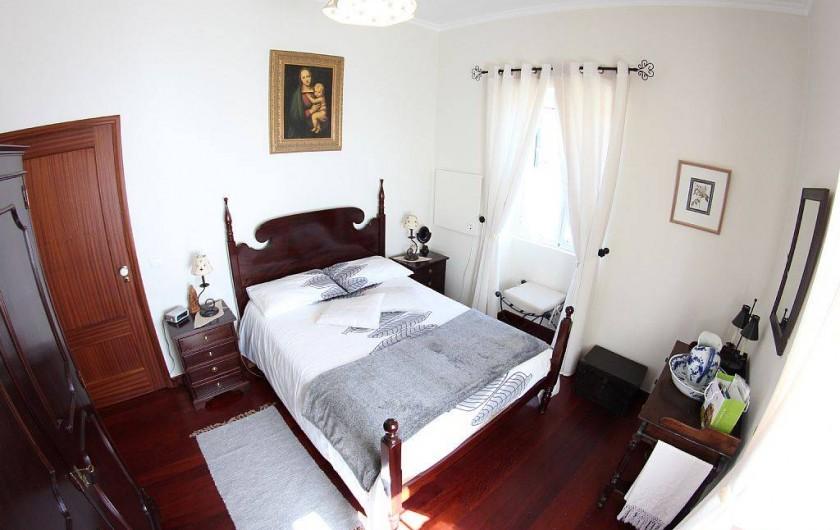 Location de vacances - Villa à Estreito da Calheta - Chambre double Est